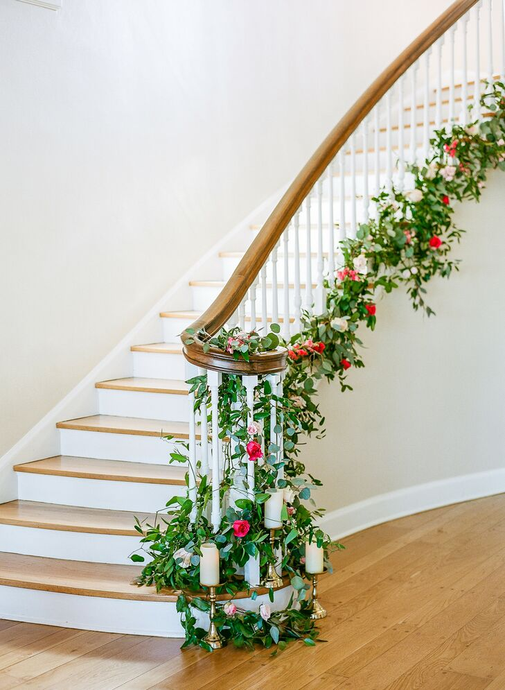 Greenery-Covered Staircase at The Adams Estate in Lake Alfred, Florida