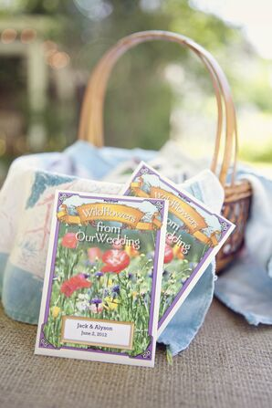 Wildflower Seeds Favors
