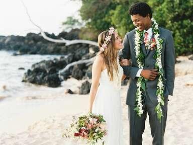 Sneak Peek: An Intimate, Tropical Wedding at Sugarman Estate in Maui, Hawaii