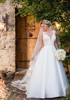 Essense of Australia D2421 Ball Gown Wedding Dress