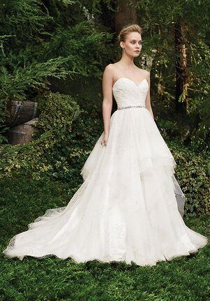 Casablanca Bridal 2264 Rosette Ball Gown Wedding Dress