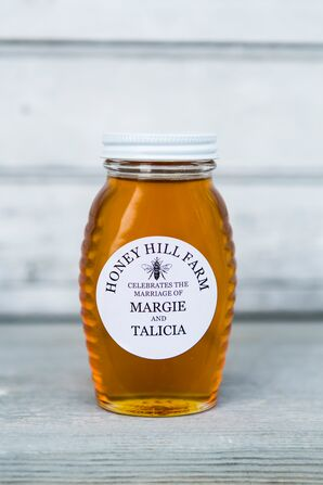 Personalized Honey Jar Favors