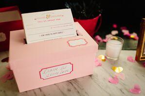 Pink Mailbox Guest Book