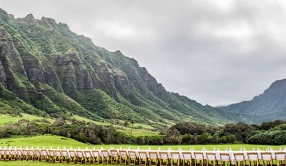 Kualoa Hawaii Reception Venues Kaneohe Hi
