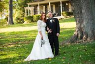 The theme of Dara Gans (43 and works in event planning) and John Marshall's (45 and an architect) wedding was motivated by their