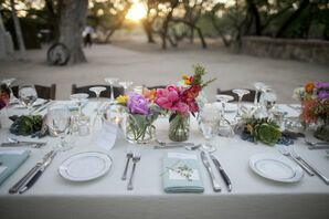 Turquoise Place Settings