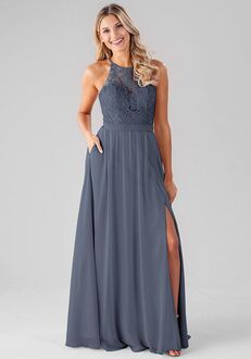 Kennedy Blue Melanie Halter Bridesmaid Dress