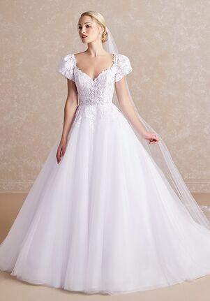 Adrianna Papell Platinum 31182 Ball Gown Wedding Dress
