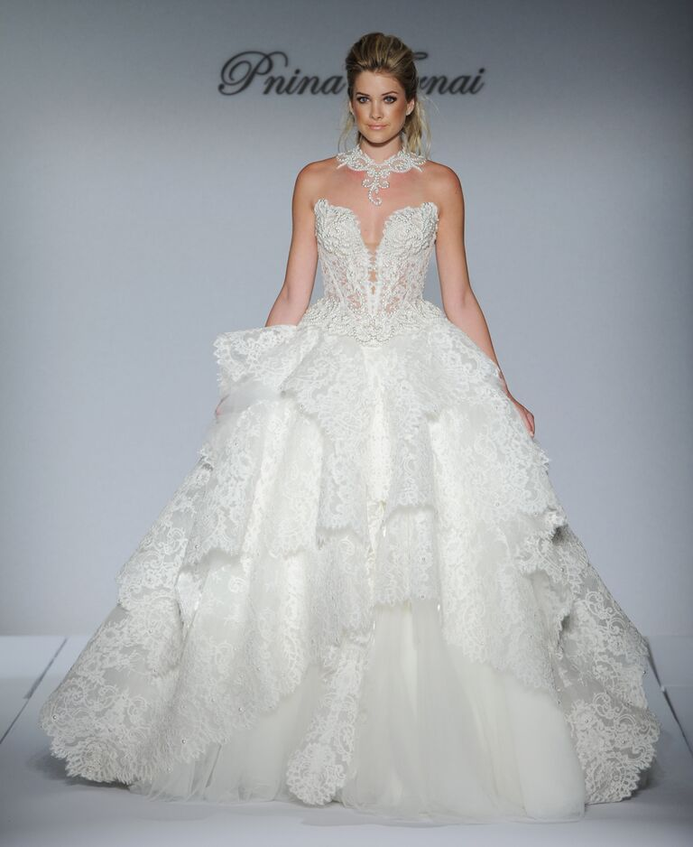 Pnina Tornai Fall 2016 Collection: Wedding Dress Photos