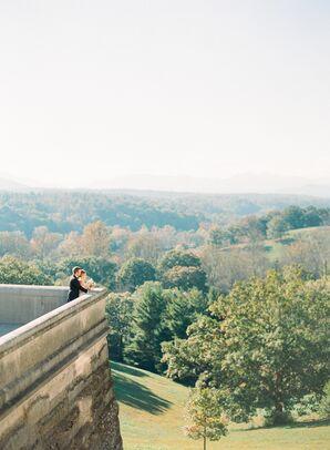 Fall Asheville Wedding Reception