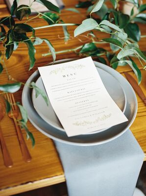 Pale Gray Ceramic Dinnerware
