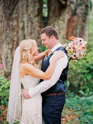 Romantic Gainesville, Florida Prairie Couple Shot