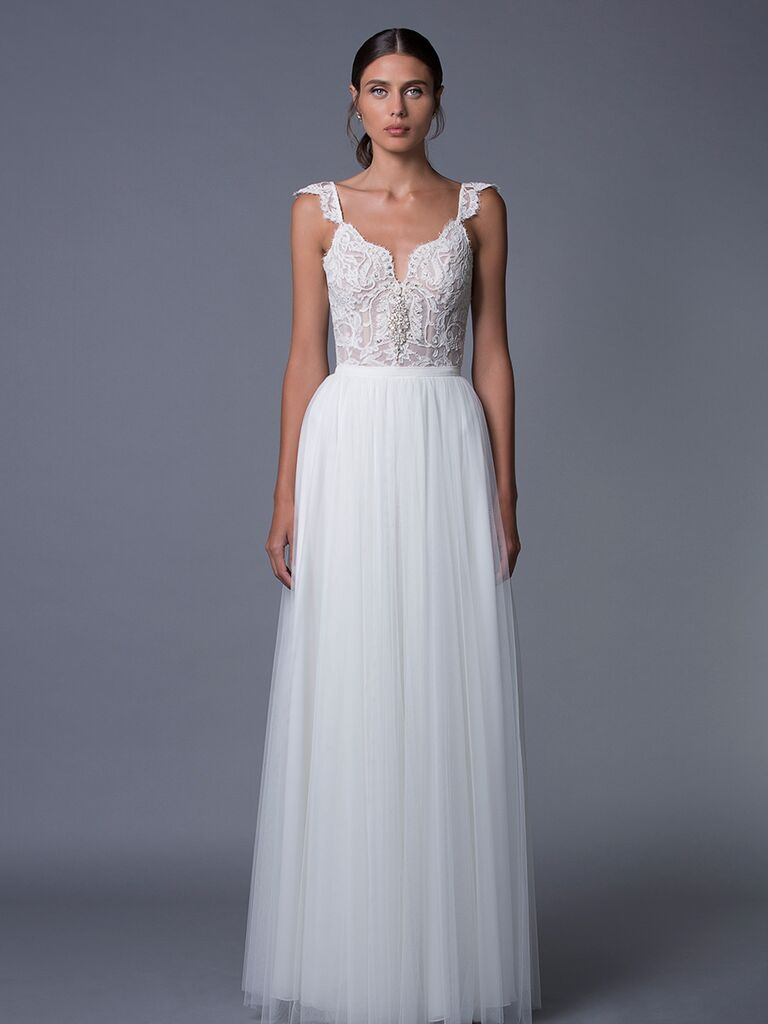 Lihi Hod 'Helena' lace and tulle wedding dress for Fall 2017