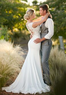 Essense of Australia D2238 Sheath Wedding Dress