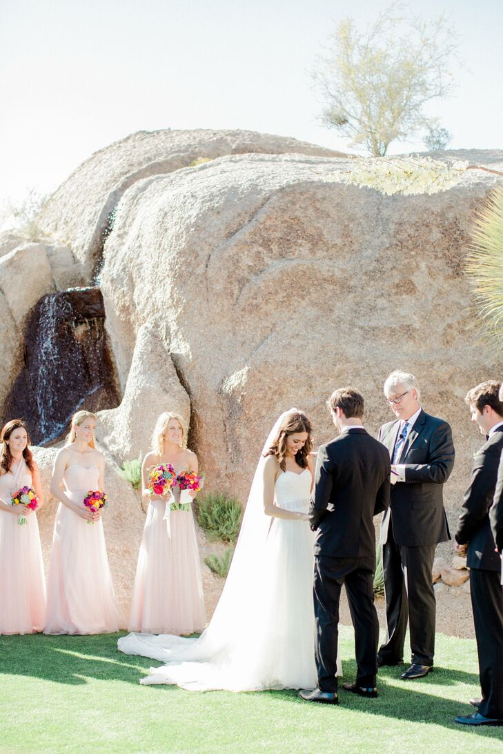 Ceremony at Boulders Resort and Spa