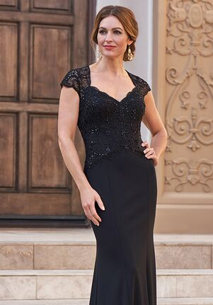 Jade Couture Mother of the Bride by Jasmine K208051 Black Mother Of The Bride Dress