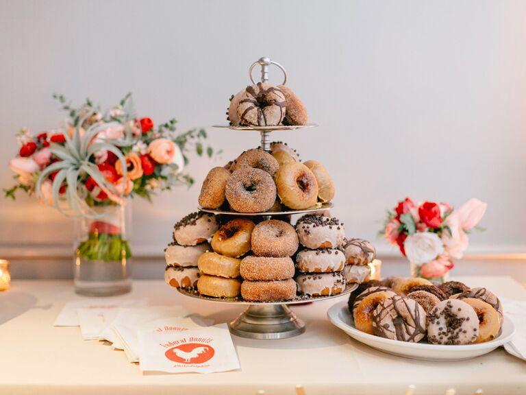Wedding desserts spread
