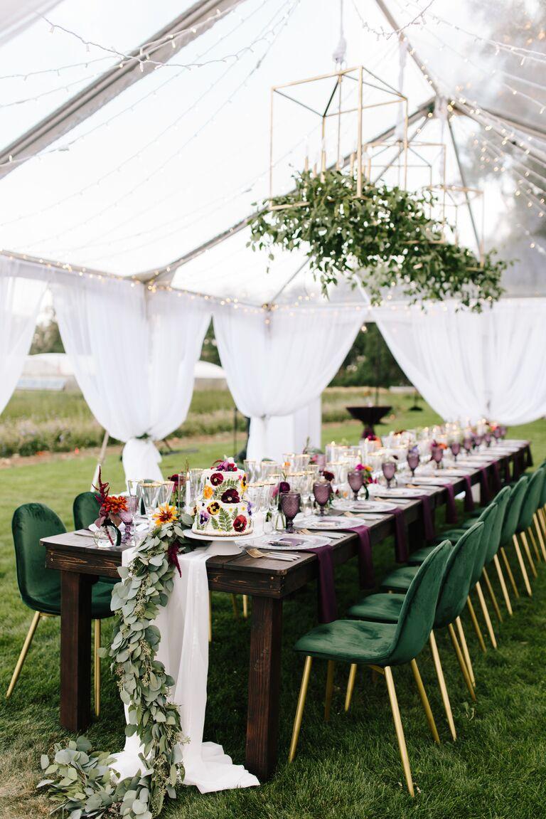 tented wedding microwedding