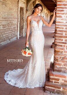 KITTYCHEN Couture FRIDA, K1953 Sheath Wedding Dress