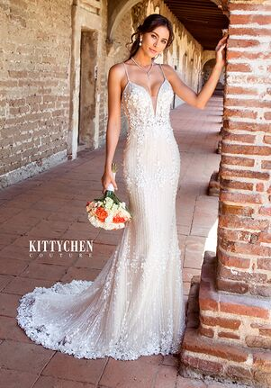 KITTYCHEN Couture FRIDA, K1953 Sheath Wedding Dress