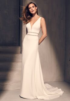 Mikaella 2214 A-Line Wedding Dress