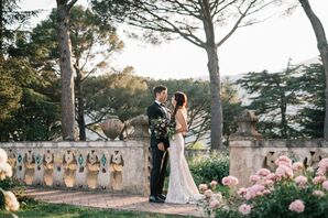Romantic Spring Wedding in Italian Garden