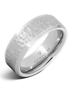 Serinium® Collection Lunare — Moon Pattern Serinium® Ring-RMSA002115 Serinium® Wedding Ring