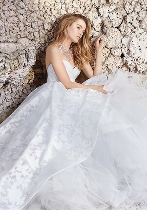 Jim Hjelm 8506 Ball Gown Wedding Dress
