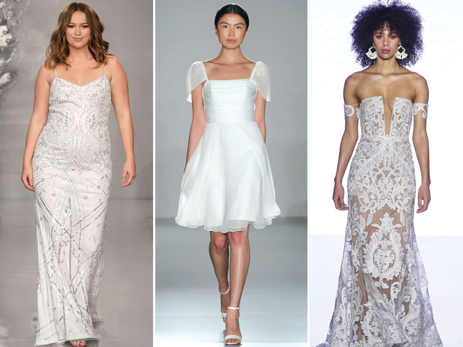 35 Beach Wedding Dresses Perfect for your Seaside Ceremony