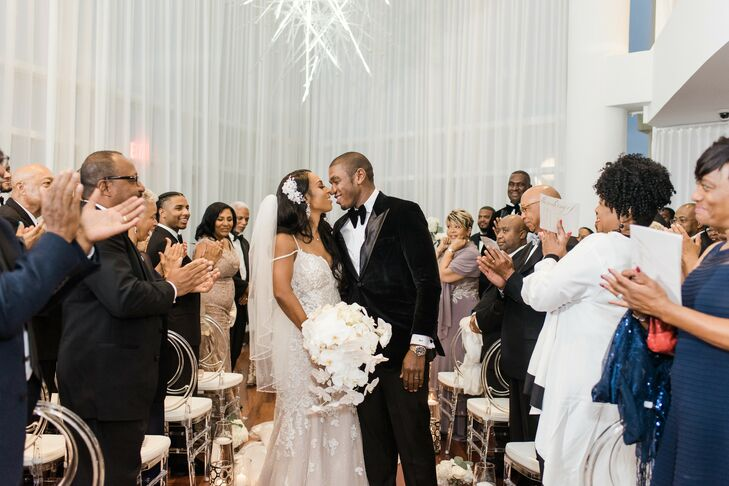 Glamorous Recessional at Sequoia Restaurant in Washington, D.C.