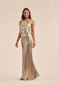 B2 Bridesmaids by Jasmine B213064 Halter Bridesmaid Dress