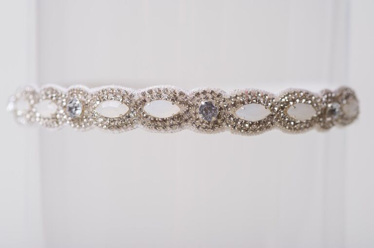 Hayley Paige wedding garter