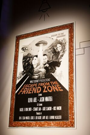 Personalized Eclectic Movie Poster Sign