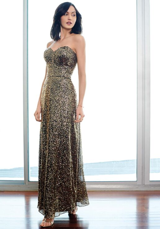 Colour by Kenneth Winston 5261L Sweetheart Bridesmaid Dress