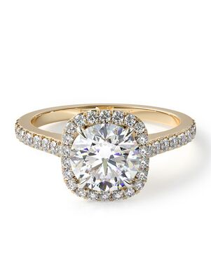 James Allen Classic Cushion, Radiant, Round Cut Engagement Ring
