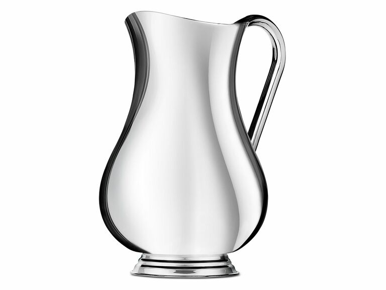 Silver pitcher 16th anniversary gift