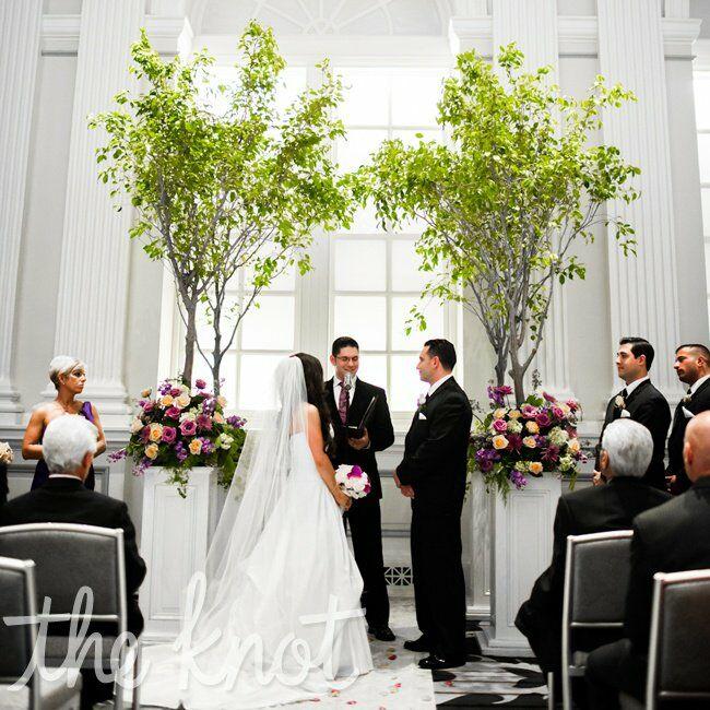 Wedding Ceremony Decorations Ideas Indoor: Indoor Tree Altar