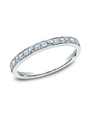 Benchmark 522721W White Gold Wedding Ring