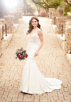 Essense of Australia D2457 Sheath Wedding Dress