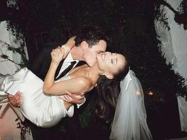 ariana grande and dalton gomez wedding photos