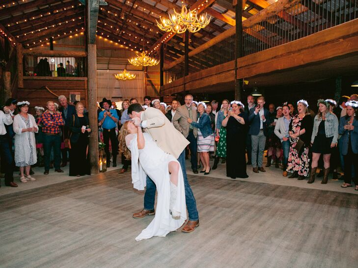 Rustic First Dance at C Lazy U Ranch in Granby, Colorado