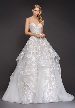Blush by Hayley Paige 1800-Lulu Ball Gown Wedding Dress