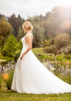 Essense of Australia D2473 Sheath Wedding Dress