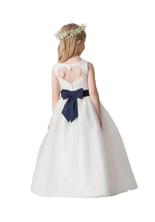 Bari Jay Flower Girls F5016 Blue Flower Girl Dress