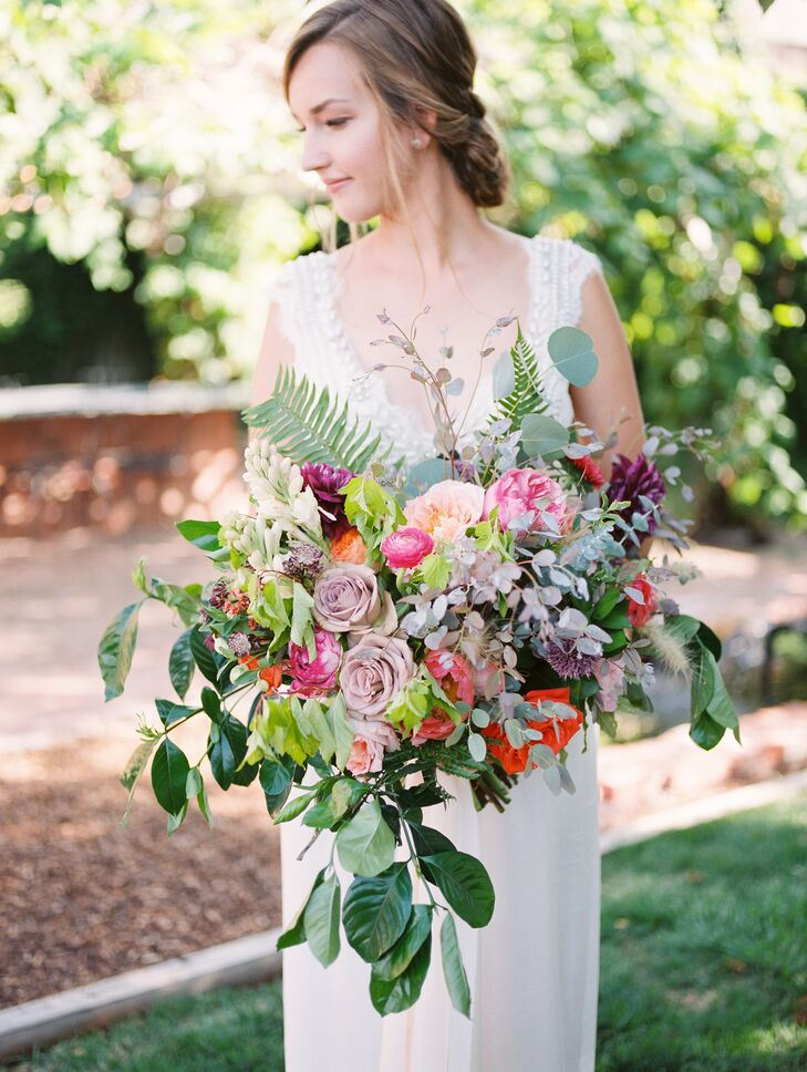 Colorful Oversized Bohemian Bouquet