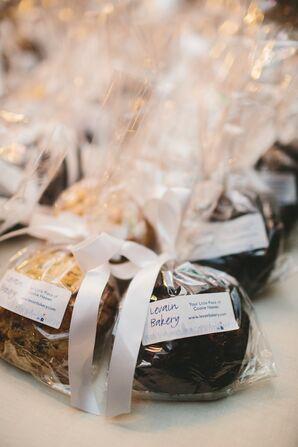 Sweet Wedding Favors from Levain Bakery