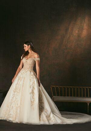Amaré Couture C160 Elsa Ball Gown Wedding Dress