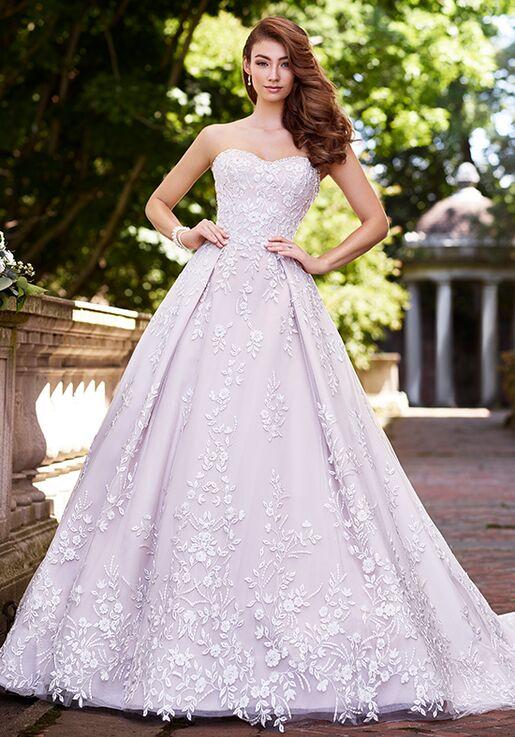 25d7249c Martin Thornburg a Mon Cheri Collection 119252 Hannah Ball Gown Wedding  Dress