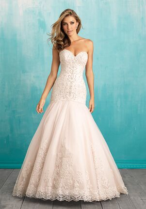 Allure Bridals 9325 A-Line Wedding Dress