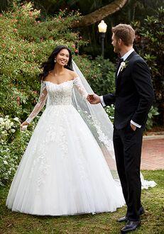 Essense of Australia D3183 Ball Gown Wedding Dress